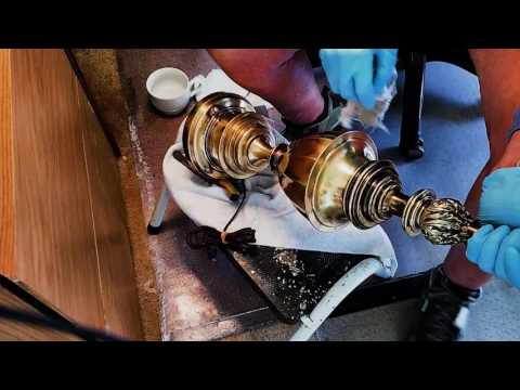 How to Clean a Brass Lamp