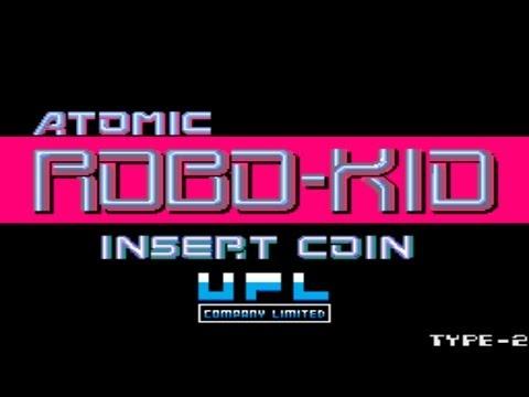 Atomic Robo-Kid 1988 UPL Mame Retro Arcade Games