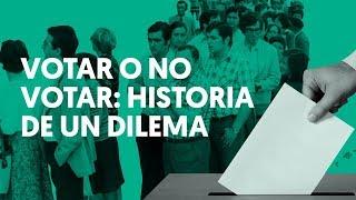 VOTAR o NO VOTAR: Historia de la PARTICIPACIÓN en ESPAÑA