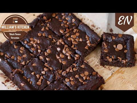 Black Bean Brownies Recipe (VEGAN!) || William's Kitchen EN