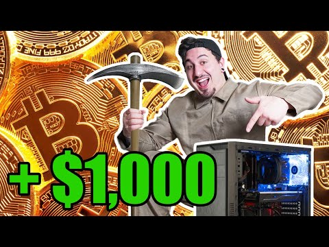 I Mined BITCOIN On My Gaming PC For 1 Week!