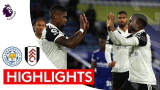 Leicester 1-2 Fulham | Premier League Highlights | Lookman and Cavaleiro make it a Magic Monday