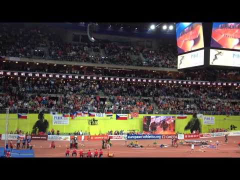 Jakub Holuša - zlatá medaile - 1500m