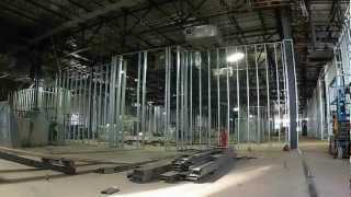 """Steel Stud Wall Framing Construction  Hd """"time Lapse"""""""