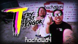 ELROY GOES TO ROCKAWAY! | TRY TEST TENGOK
