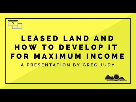 How to Lease Land for Livestock and Develop It for Maximum Income
