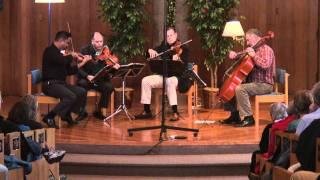 """Alexander String Quartet: Dvořák String Quartet in F, Op. 96 - II. Lento """"American"""""""