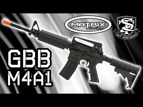 Matrix S&T Gas Blowback M4A1 - The Beginner's GBB M4