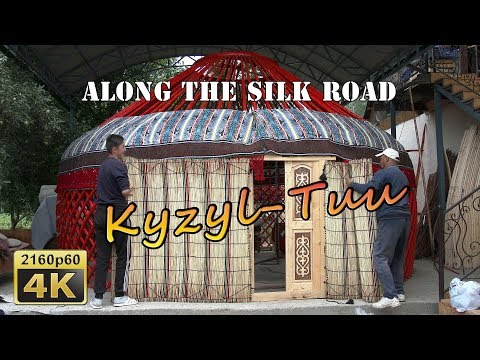 Setting Up a Yurt - Kyrgyzstan 4K Travel Channel