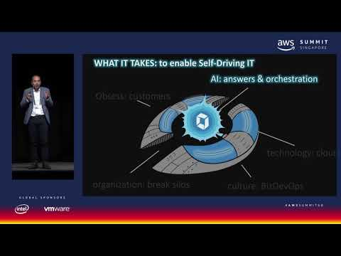 17-AWS Summit Singapore - Automation & Augmentation Driven by AI, Enabling Self-Driving IT