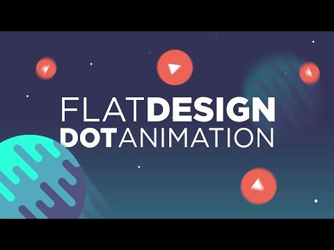 Cinema 4D Tutorial: Flat Design Dot Animation