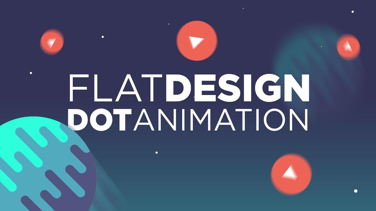 3d Motion Wallpaper Download Cinema 4d Tutorial Flat Design Dot Animation Youtube