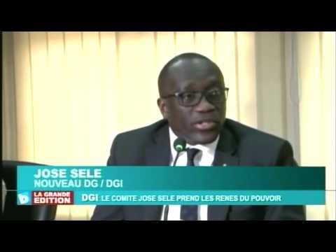 Mr. José SELE nommé nouveau DG de la DGI, Direction Générale des Impots