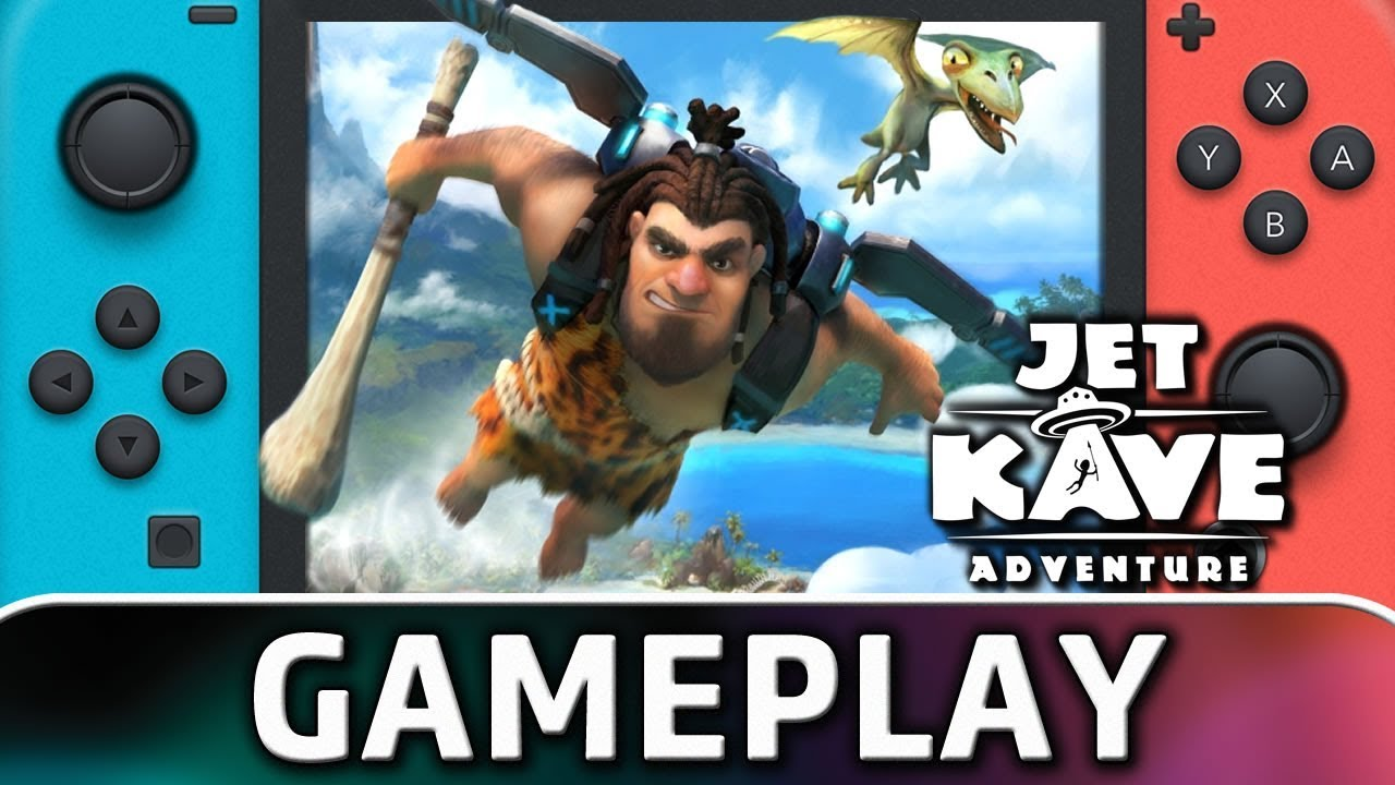 Jet Kave Adventure | First 10 Minutes on Nintendo Switch