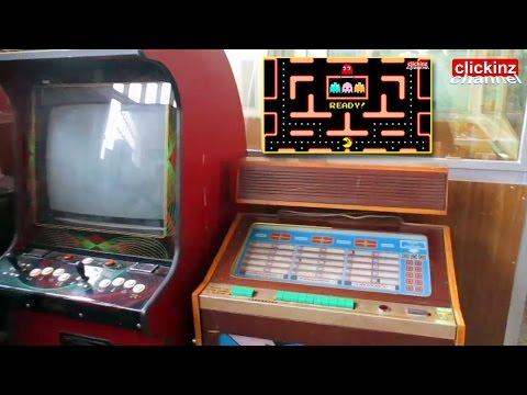 SALON RECREATIVO ANTIGUA MAQUINA RECREATIVA SINFONOLA PINBALL VINTAGE Arcade Machine SALOON ZARAGOZA