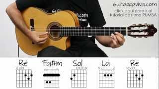 Noches de Bohemia Guitarra Acordes Facil tutorial como tocar guitarra