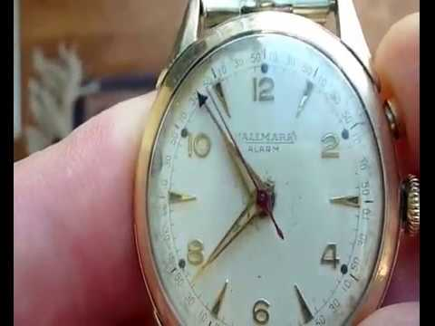 Hallmark Vulcain Cricket Cal. 120 Watch Wrist Alarm - Armbandwecker