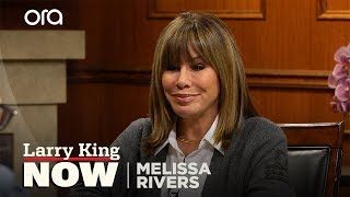 "Melissa Rivers on Kathy Griffin: ""You never want to see anyone that unhappy"""