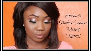 Anastasia Beverly Hills Shadow Couture World Traveller Pallete Makeup Tutorial | I am Adija.K