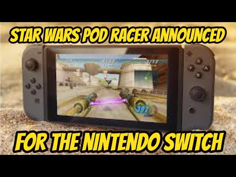Star Wars Episode 1 Pod Racer Coming To The Nintendo Switch