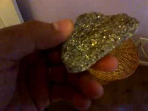 rock with gold flakes youtube