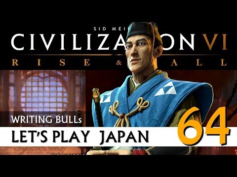 Let's Play: Civilization VI - Japan (64) | Rise & Fall [Deutsch]