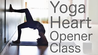 Free Yoga Class Fun Heart Opening To Lift Your Mood: With Fightmaster Yoga