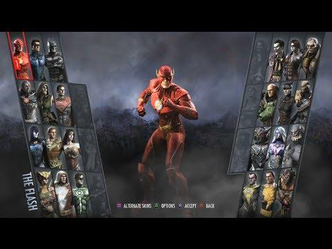 Injustice: Gods Among Us Arcade #1- The Flash