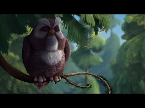the wise owl from Tinker bell