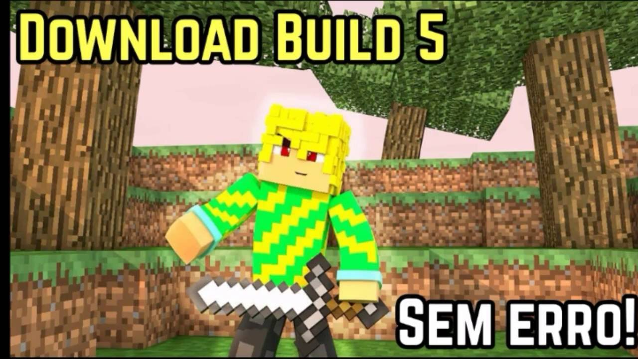 DOWNLOAD MINECRAFT PE BUILD 5 !! (0.16.0) - Compatível Com Todos os Android's !!