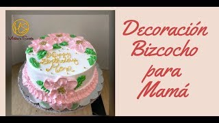 #besodeangel #pastel idea decoracion para mama en chantilly