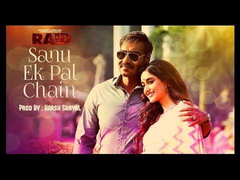 Sanu Ek Pal Chain - Instrumental Cover Mix (Raid/Rahat Fateh Ali Khan)  | Harsh Sanyal |