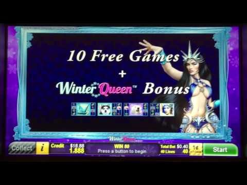 ++NEW Winter Queen slot machine, DBG