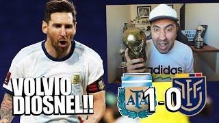 ARGENTINA 1 - 0 ECUADOR | VOLVIO DIOSNEL MESSI! | ELIMINATORIAS QATAR 2022