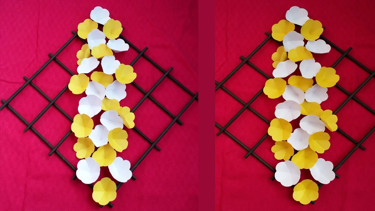 Diy Wall Decoration Idea How To Make Most Beautiful Paper