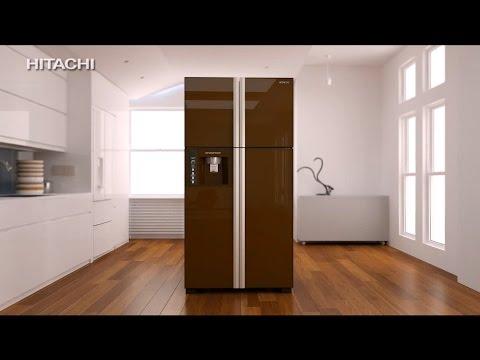 Hitachi French Door Refrigerator 30 Sec