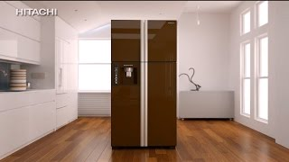 Hitachi French Door Refrigerator 30 sec