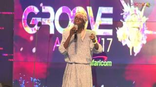 NJUGUNA a.k.a Mary Mary at GROOVE AWARDS 2017