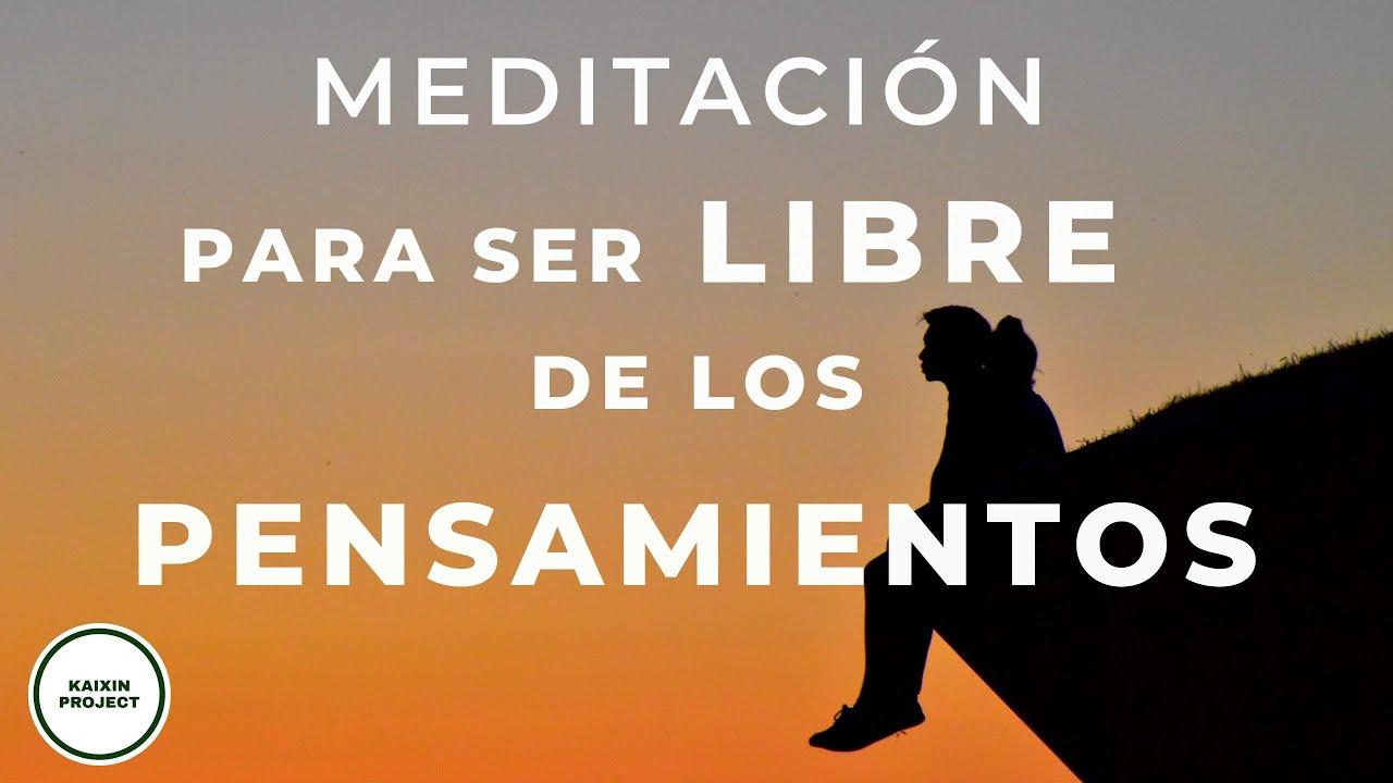 Meditacion Guiada PENSAMIENTOS Obsesivos | Liberar Ansiedad, Miedos y Preocupación | Mindfulness