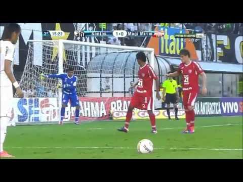 Neymar vs Mogi Mirim 22-04-2012 Home HD