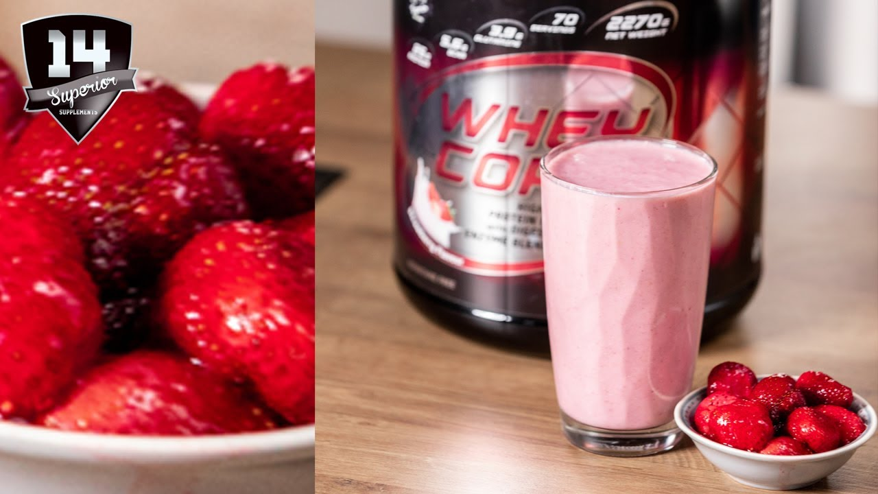Superior 14 - Strawberry Yoghurt Protein Shake