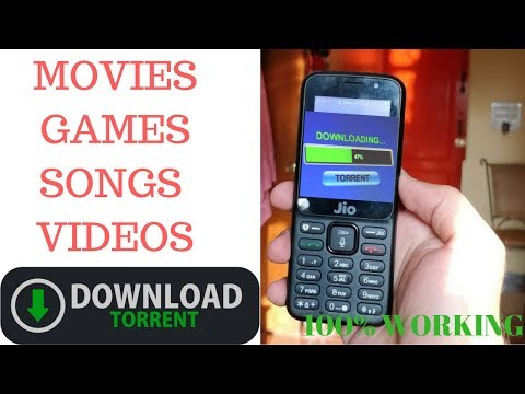 JIO PHONE - DOWNLOAD TORRENTS(MOVIES,VIDEOS,GAMES,SONGS)| HINDI TUTORIAL