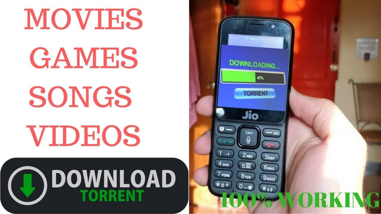 Jio Phone Download Torrents Movies Videos Games Songs