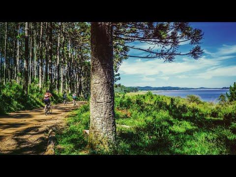 Virtual Biking Through Scenic Nature - Canadian Cataraqui Trails