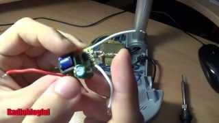 Подключение светодиодной ленты к драйверу(Еще одна доработка настольной лампы, в этот раз меняем трансформаторный БП на Led драйвер. Весь процесс заним..., 2014-04-08T02:39:49.000Z)