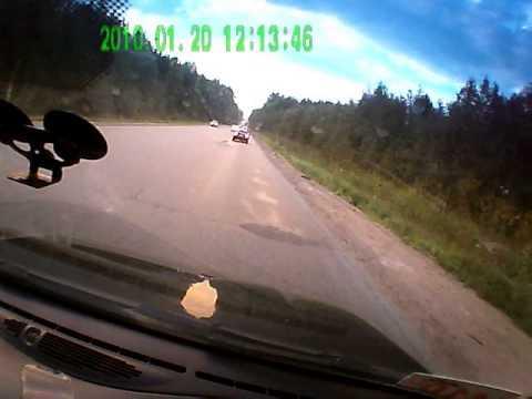 ДТП Выборгское шоссе в долине у Сертолово. 12.08.2015