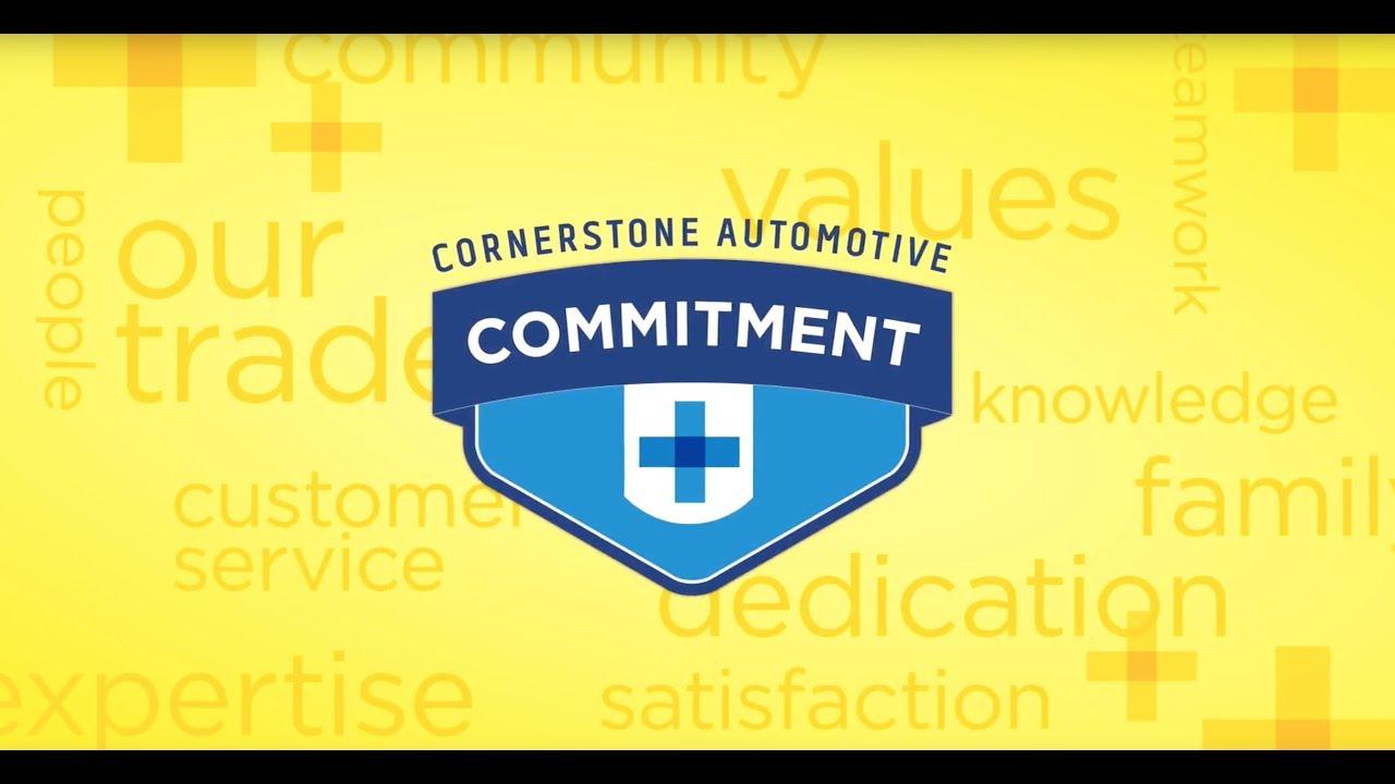 Cornerstone Auto Elk River >> Cornerstone Auto Commitment