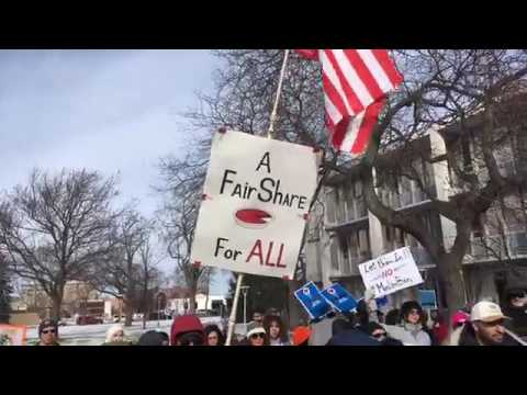 Flint March for Justice, Equality and Unity - Feb 4, 2017