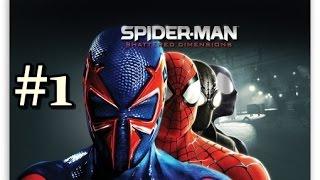 Spiderman Shattered Dimensions - Bölüm 1 - Hey Spidey! [Türkçe]