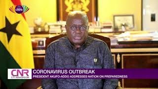 Nana Addo addresses nation over preparedness on coronavirus outbreak